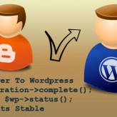 Finally everything is stabilized – Blogger to WordPress complete
