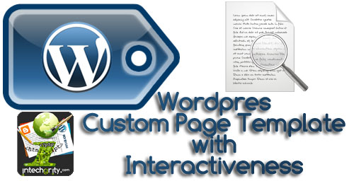 custom-page-template