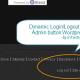 Add dynamic Login Logout n Site Admin button to WordPress using WP API