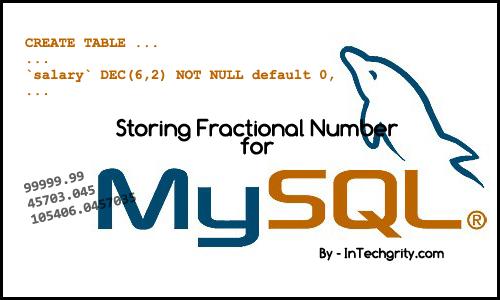 mysql-dec-datatype