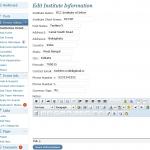 Admin Institution Details