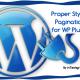 Properly add pagination to your WordPress Plugin