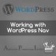 Programmer's guide for WordPress Nav menu