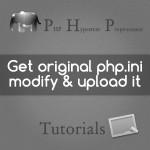 get original php.ini