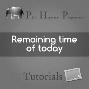 remaining-time-of-today-php