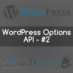 WordPress Options API