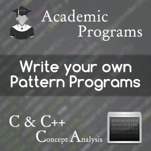 write-your-own-pattern-programs