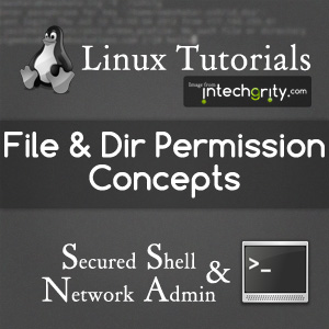 Concepts of FIle and Directory Permissions in Linux