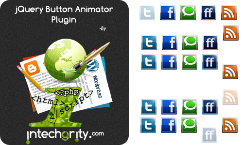 jQuery Button Animator plugin by iTg