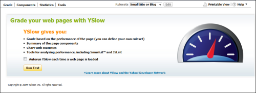 YSlow Firebug Addon