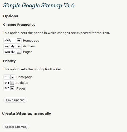 Google Sitemaps: Less Resource Hungry Google Sitemap Generator For
