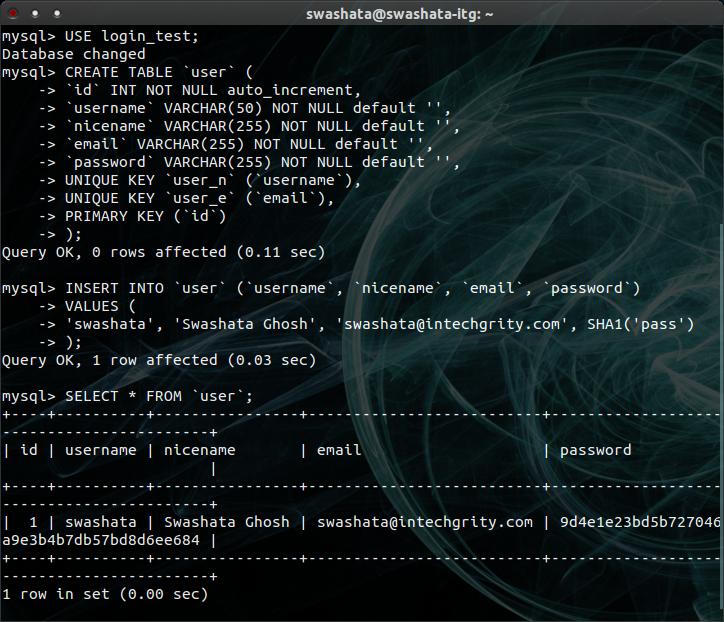 Login Logout Admin & Remember PHP script using MySQL SESSION & COOKIE