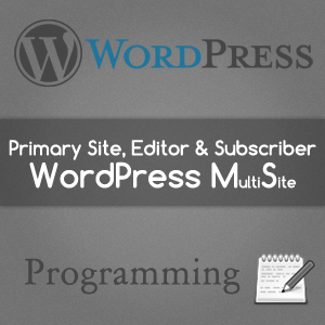 Automatic Primary Site in WordPress Multisite
