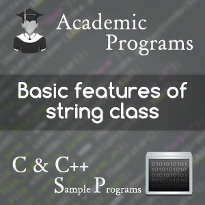 string manipulation using cpp